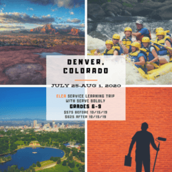 Denver, Colorado Youth Mission Trip